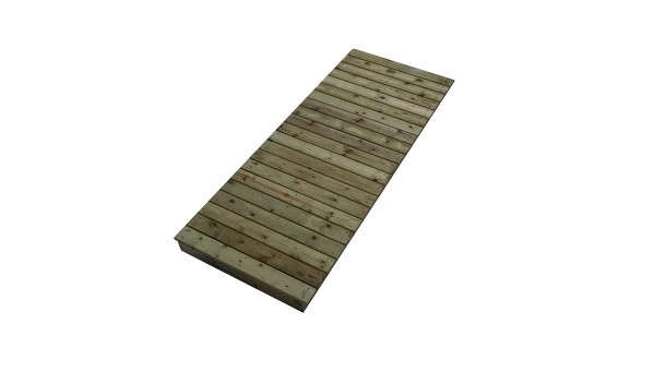 Docks dock master for Standard deck board lengths