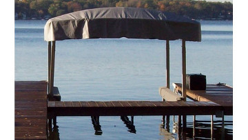 Standard Canopy Frame & Canopies u2013 Dock Master